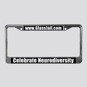 Celebrate Neurodiversity License Plate Frame