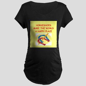 hirseshoes Maternity Dark T-Shirt