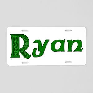 Family Ryan Aluminum License Plate