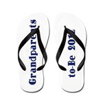 Grandparents-to-Be 2012 Flip Flops