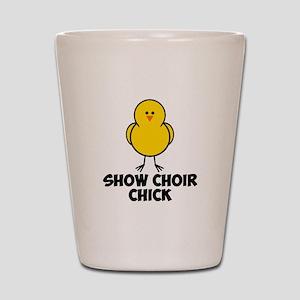 Show Choir Chick Shot Glass