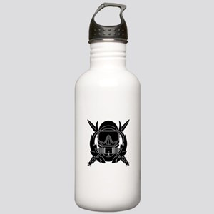 Combat Diver B-W Stainless Water Bottle 1.0L