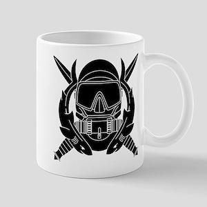 Combat Diver B-W Mug