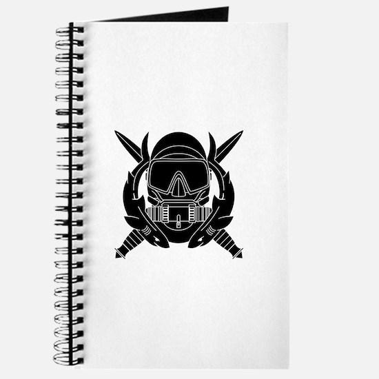 Combat Diver B-W Journal