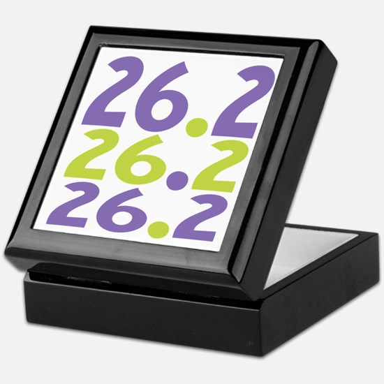 26.2 Marathon Keepsake Box