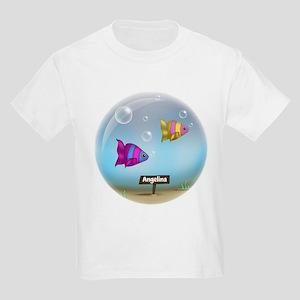 Under the Sea - Fish Bowl - Kids Light T-Shirt