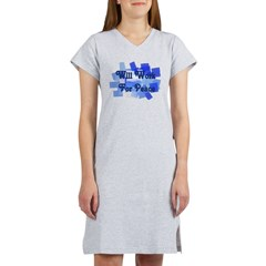Will Work For Peace Women's Nightshirt