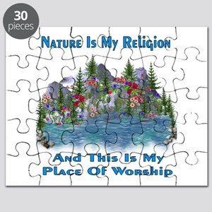 Nature Is My Religion Puzzle