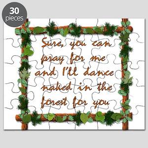 Naked Pagan Dance Puzzle