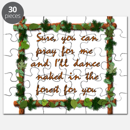 Naked Pagan Dance Puzzle
