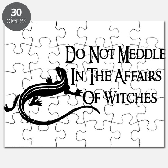 Witch Meddling Puzzle