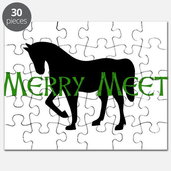 Merry Meet Spirit Horse Puzzle