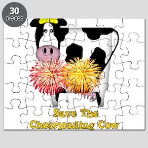 Cheerleading Cow Puzzle