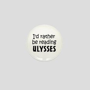 Reading Ulysses Mini Button