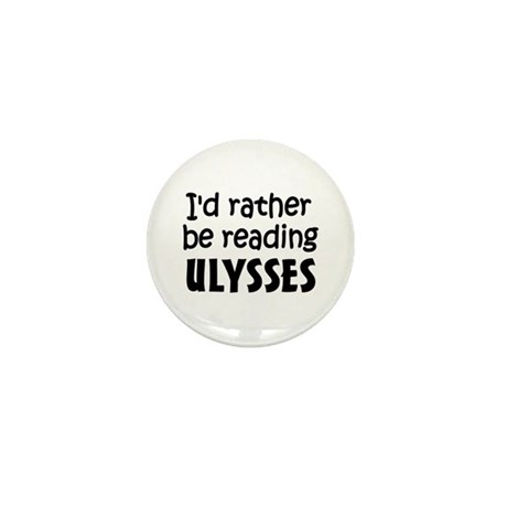 Reading Ulysses Mini Button (10 pack)