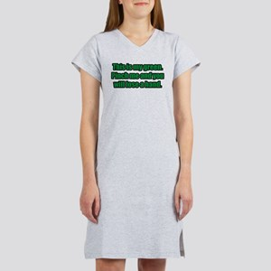 This is My Green. Women's Nightshirt