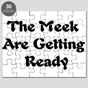 Meek Are Getting Ready Puzzle