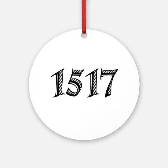 1517 Ornament (Round)