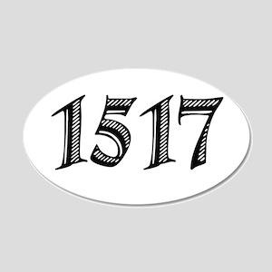 1517 22x14 Oval Wall Peel