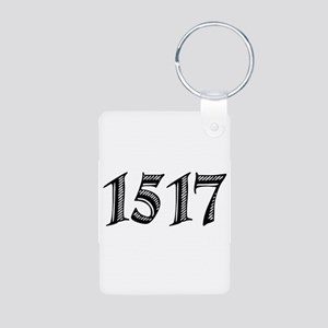 1517 Aluminum Photo Keychain