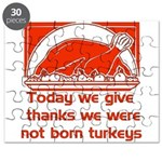 Thanksgiving Humor Blessing Puzzle