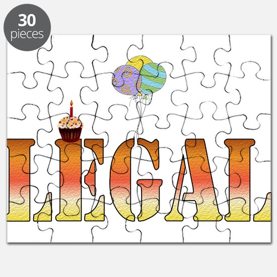 Finally Legal Birthday Puzzle