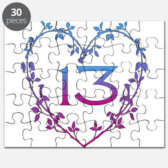 Thirteenth Birthday Puzzle