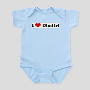 I Love Dimitri Infant Creeper