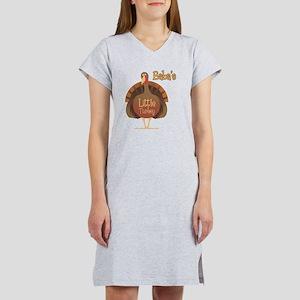 Baba's Little Turkey Women's Nightshirt