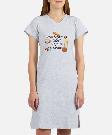 What Happens at Baba's... Women's Nightshirt