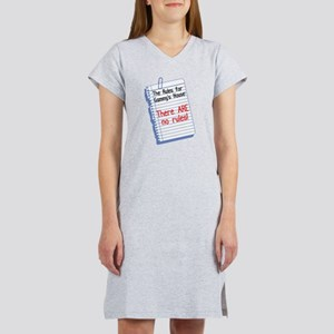No Rules at Gammy's House! Women's Nightshirt