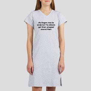 Gram's Wrapped (black) Women's Nightshirt
