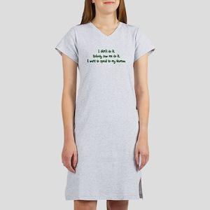 Want to Speak to Mamaw Women's Nightshirt