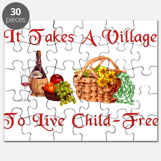 Child-Free Village Puzzle