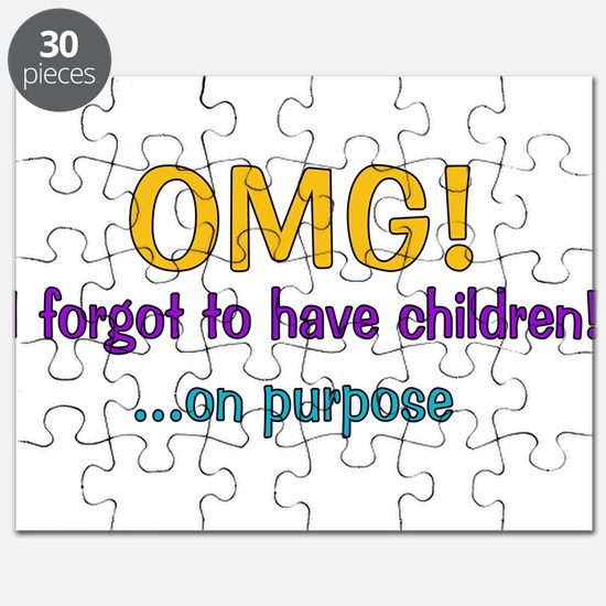 Forgot To Have Children Puzzle