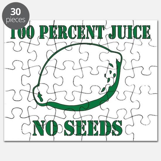 Juice No Seeds Puzzle