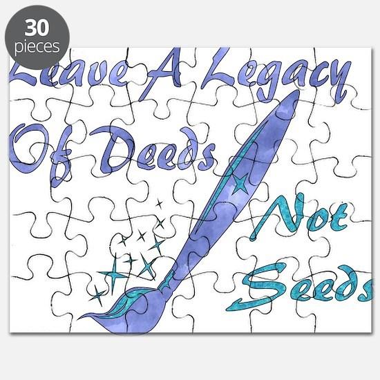 Deeds Not Seeds Puzzle