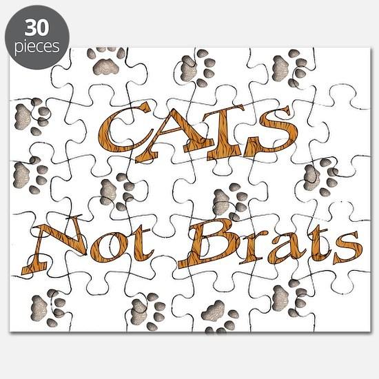 Cats Not Brats Puzzle