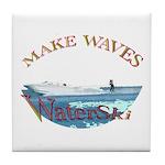 Water ski Tile Coaster