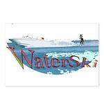 Water ski Postcards (Package of 8)