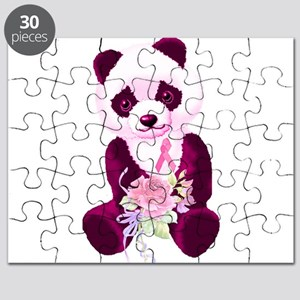 Breast Cancer Panda Bear Puzzle