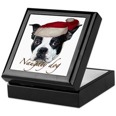 Naughty Dog Keepsake Box