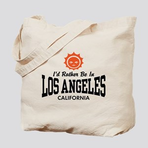 I'd Rather Be In Los Angeles Tote Bag