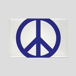 Plain Peace Rectangle Magnet