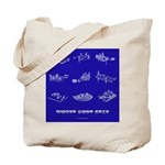 HamTees.com Morse Code Keys Tote Bag