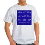 HamTees.com Morse Code Keys Light T-Shirt