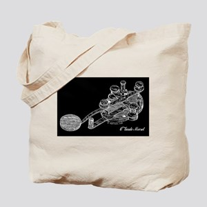 CW Key Drawing Tote Bag
