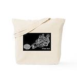CW Key Drawing Tote Bag