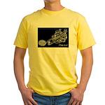 CW Key Drawing Yellow T-Shirt