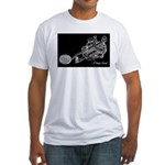 CW Key Drawing Fitted T-Shirt